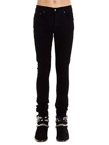 Luxury Fashion   Amiri Heren XM01201SDBLACK Zwart Katoen Jeans   Lente-zomer 20