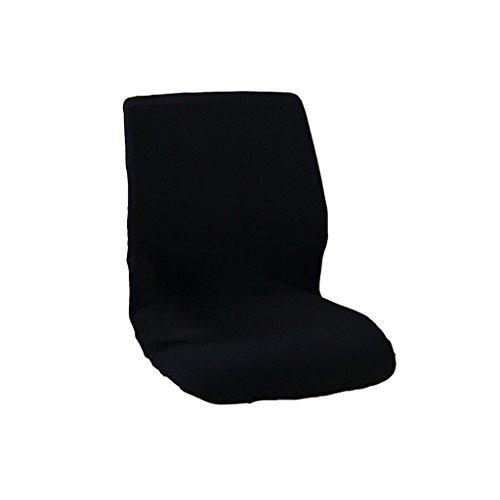 Baoblaze Sitzbezug Stretch, Husse für Bürostuhl Chefsessel Drehstuhl Armlehne Bezug - Schwarz