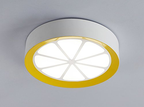 Home mall- 18W / 24W style moderne led lampe de plafond de chambre à coucher lampe personnalisée balcon enfants (Couleur : Lumière blanche-40 * 40cm)