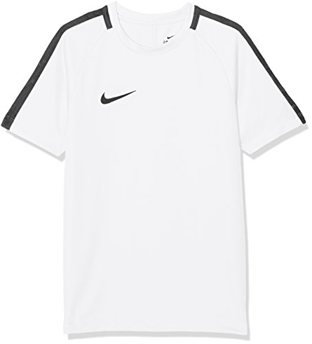 Nike Kinder Dry Academy 18 T-Shirt, weiß (White/Black), L