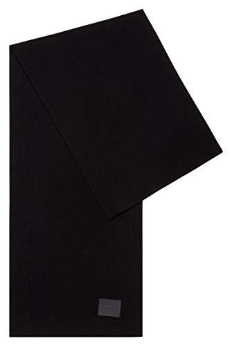 HUGO Herren Zevo 10231844 01 Mode-Schal, Black1, ONESI