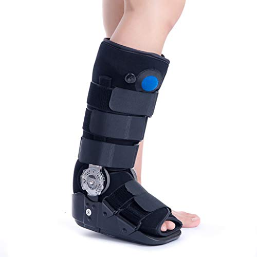 Air Cam Walker Boot, Knöchelorthese Stiefel Orthopädische Fußgussstütze für verstauchten Knöchel, gebrochenen Fuß, Zehenverletzung, nach der Operation, Achillessehnenentzündung