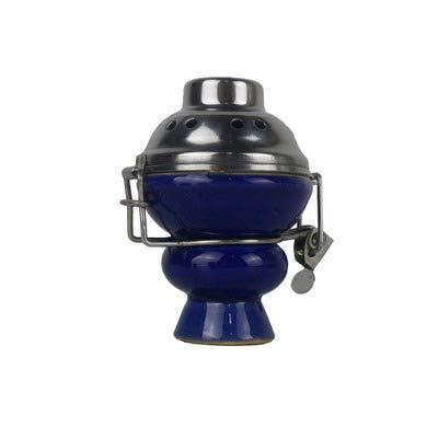 XZYP Accesorios narguile Pipa de Agua árabe, tazón Fumar Marihuana Cabeza de cerámica, Accesorios narguile Cuenco de cerámica,C