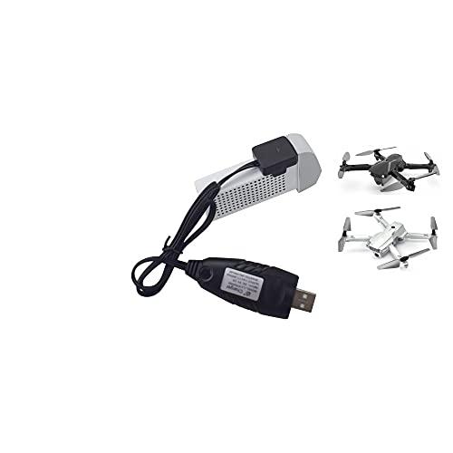 LIZHOUMIL Cavo di Ricarica Usb Per Hs175 D65 Syma X500 X30 Z6 Antenna Pieghevole Quadcopter Rc Drone Batteria al Litio Caricabatterie Cavo di Ricarica