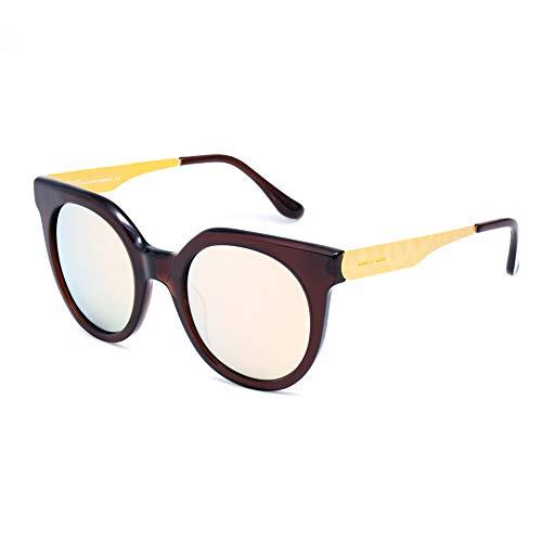 italia independent 0801-044-ACE Gafas de sol, Negro, 52 para Mujer