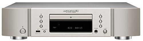 Marantz CD6006/N1SG CD-Player (geeignet für Apple iPhone/iPod, CD-R/RW, 32 Watt, 100dB, USB-A) silbergold