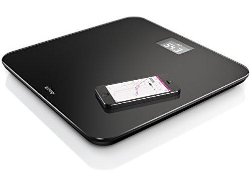 Withings WS-30 Online-Waage (für iPhone und iPad), Schwarz