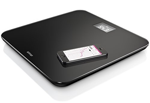 Withings - WS-30 Wireless Scale, Keep Your Weight Loss Goals On Track with This Easy-to-Read Digital Scale, Black