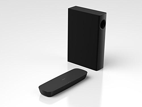 Panasonic SC-HTB254EGK 2.1 Soundbar (120 Watt RMS, HDMI with ARC, Optical Input, Bluetooth, DTS Digital Surround, Black)