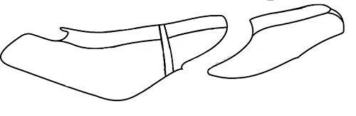 DIY Seat Skins - Replacement Seat Skin Cover for Sea-Doo - 1996-1999 GTX/GTX LTD/GTX RFI, 1997-2000 GTI - Hunter Green