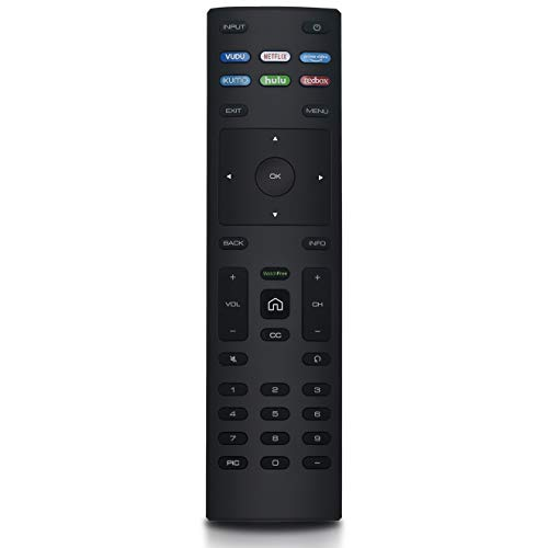 XRT136 Replaced Remote Control Compatible with Vizio Smart TV V405-G9 V435-G0 V436-G1 V505-G9 V555-G1 V555-G4 V556-G1 V605-G3 V655-G9 V656-G4 V585-G1 V705-G3 D24f-F1 D24F-G9 D24h-G9 D32h-G9 D24hn-g9