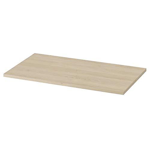 VBChome Waschtischplatte 79,8 cm x 45 cm x 1,8 cm - Moduo Kollektion wählbar Waschtischkonsole für Aufsatzwaschbecken fürs Bad Unterschrank Counterboard Waschtischplatte Tischplatte/Farbe: Sand Eiche