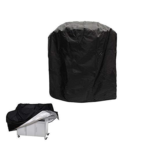 MHLYY Housse de Barbecue Antipoussière Anti-UV Anti-l'eau Anti-l'Humidité Oxford Protection BBQ Couverture avec Sac de Rangement pour Extérieure Le Jardin à la Maison (XS(Round): 71x73cm)