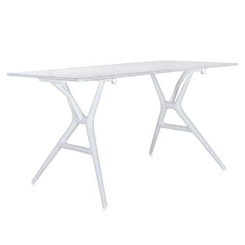 Kartell 4507/03 Spoon Table Tavolo Medio, Bianco