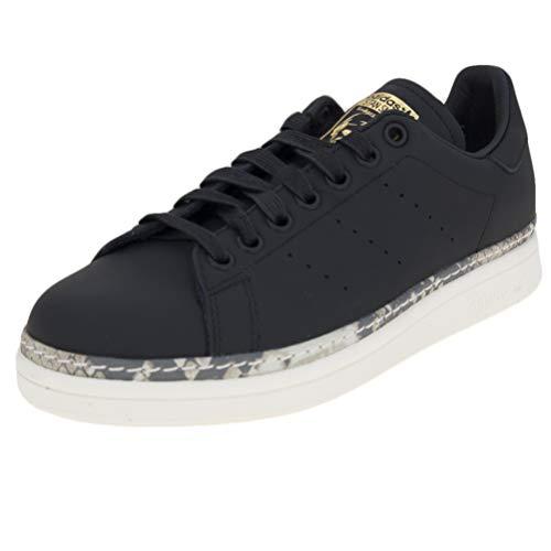 adidas Stan Smith New Bold W, Scarpe da Fitness Donna, Nero (Negro 000), 36 1/3 EU