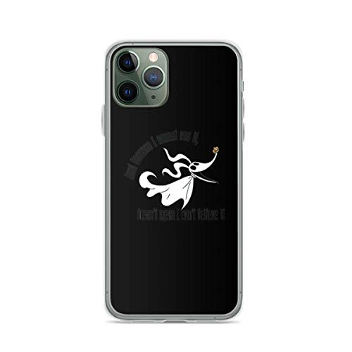 Phone Case Zero Nightmare Before Christmas Compatible with iPhone 6 6s 7 8 X Xs Xr 11 12 Pro Max Mini Se 2020 Shock Tested Absorption