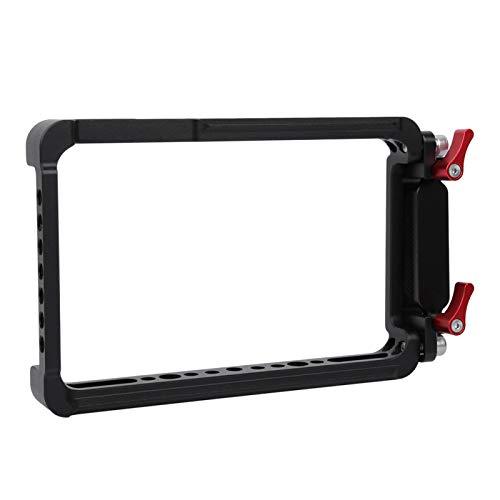 Caja de la caja del monitor de la cámara de metal CNC 6,5 * 4,3 * 0,8 pulgadas Aleación de aluminio resistente al desgaste con estructura anti-desmontable de la tarjeta SSD, para el monitor