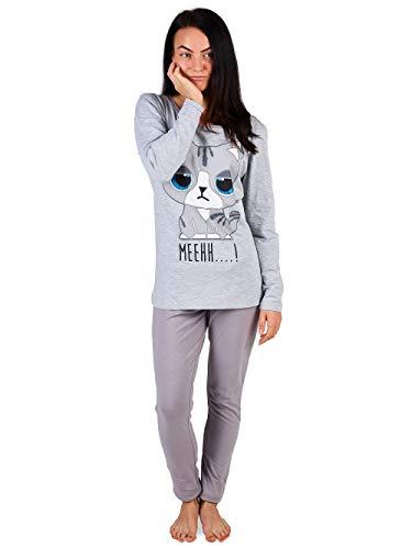 Pijama Mujer Chica 100% Algodón Set Mickey Mouse Minnie Mad