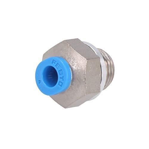 QSM-G1/8-4 Push-in fitting threaded, straight G 1/8