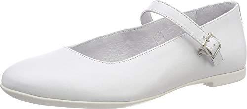 Richter Kinderschuhe Ely, Mädchen Geschlossene Ballerinas, Weiß (White 0101), 30 EU (11.5 UK)