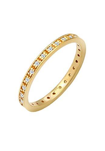 DIAMORE Ring Damen Verlobungsring mit Diamant (0.33 ct.) in 585 Gelbgold