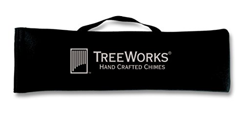 TreeWorks Chimes LG24 Large Soft-Sided Gig Bag and Transport Case for Wind Chimes or Bar Chimes up to 24