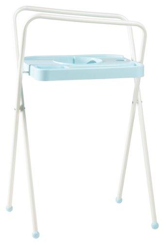 Bébé-jou Support de Bain pour Baignoire Bleu Hauteur 103 cm