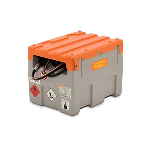 Mobile Dieseltankanlage Typ DT-Mobil Easy 200 l mit Elektropumpe CENTRI SP30 und Klappdeckel