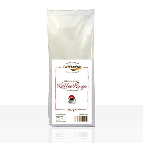 Coffeefair Premium Rouge 10 x 250g Instant-Kaffee für Kaffeevollautomaten