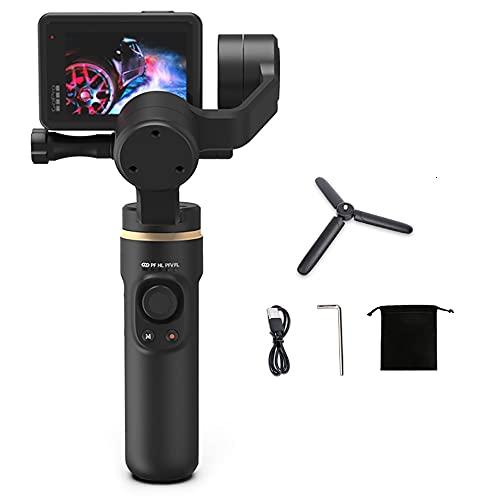 INKEE Falcon Gimbal Stabilizer für Action-Kameras, tragbare 3-Achsen-Videostabilisatoren mit drahtloser Stativ-Anti-Shake-Steuerung Vertikale horizontale Zeitrafferaufnahme für GoPro 9/8/7/6/5 OSMO
