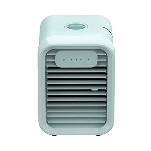 NNZZ Escritorio Ventilador de Aire Acondicionado PequeñO de Tres Velocidades para Escritorio, Mini Ventilador de Enfriamiento PortáTil, Tanque de Agua Grande Incorporado de 400 ml