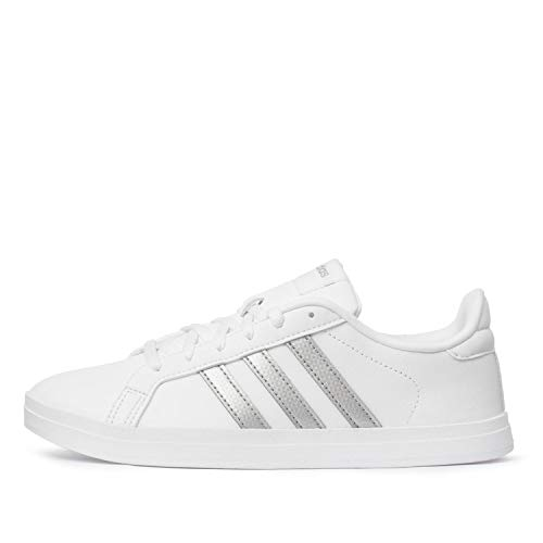 adidas Damskie buty tenisowe Courtpoint, biały - Ftwbla Plamet Gripal - 39 1/3 EU