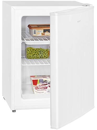 Exquisit Gefrierbox GB60-15A++ | Mini-Gefrierschrank | 42 Liter | 62 cm Höhe | Temperaturregelung | Weiß