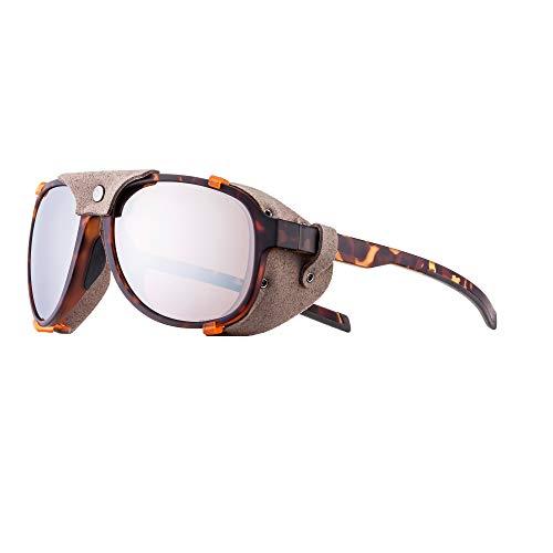 Julbo Tahoe Mountain Sunglasses, Tortoise Frame - Polarized Brown Lens