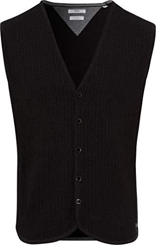 BRAX Style Wayne Hiflex Knit Vkragen Gilet da Interno, Ardesia, 4XL Uomo