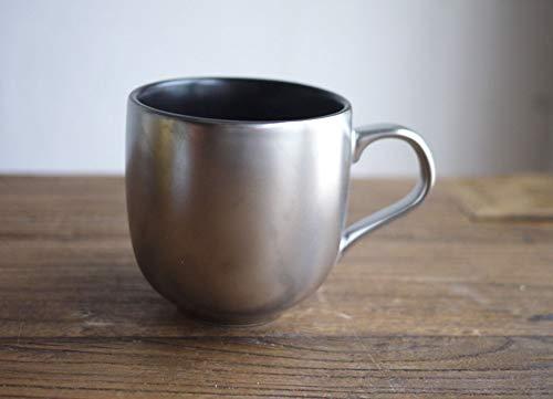 Aida Bz Golden Silver Kaffeetasse Cool Black Mug Kaffeetasse Tea Cup,Gray