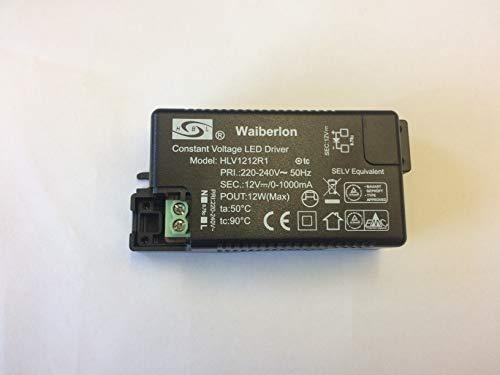 LED Driver Waiberlon 12V HLV1212R1 12W HUI BO LONG HBL 0-1000mA Trafo Transformator Constant Voltage