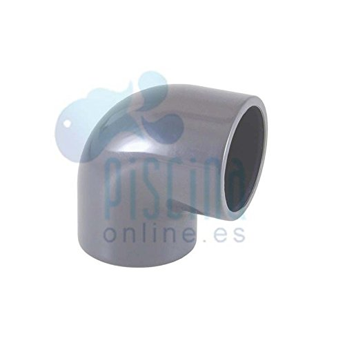 Astralpool Winkel 90° aus PVC zum Verkleben - D 50 mm - 01716