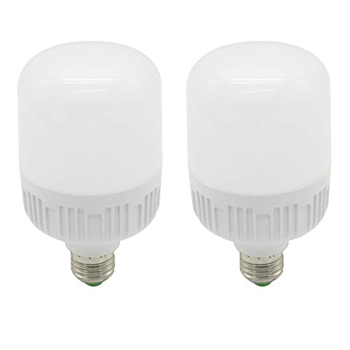 Bombillas LED MBO E27, 30W Equivalente a 180W, luz blanca fría 6000- 6500K 240V globo de ahorro de energía, paquetes de 2
