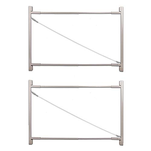 Adjust-A-Gate Gate Building Kit, 36'-72' Wide Opening Up to 6' High (2 Pack)