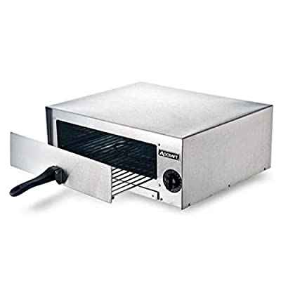Adcraft CK-2 Countertop Pizza/Snack Electric Oven, Stainless Steel, 1450-Watts, 120v