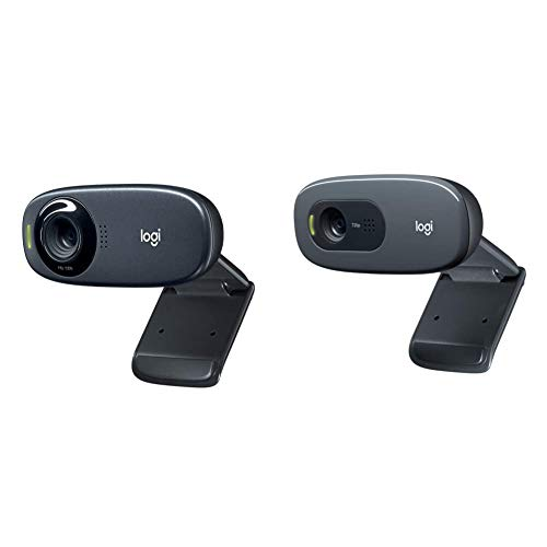 Logitech c310 webcam hd, hd 720p/30fps, videochiamate hd widescreen, correzione luce hd & c270 webcam hd, hd 720p/30fps, videochiamate hd widescreen, correzione automatica eluminosità