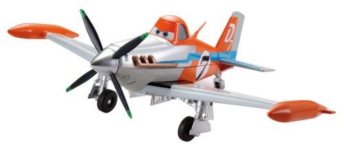 Disney Planes Deluxe Dusty Crophopper, Avión miniatura, Modelos Surtidos, 1 unidad