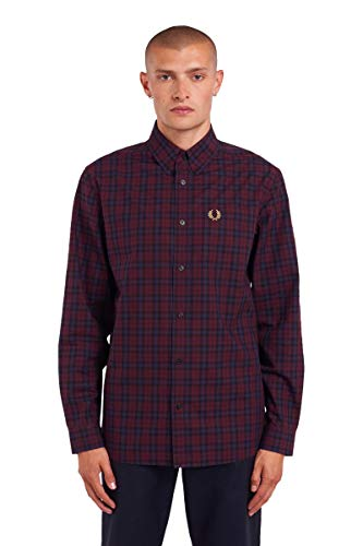 Fred Perry Camicia Four Colour Gingham Shirt