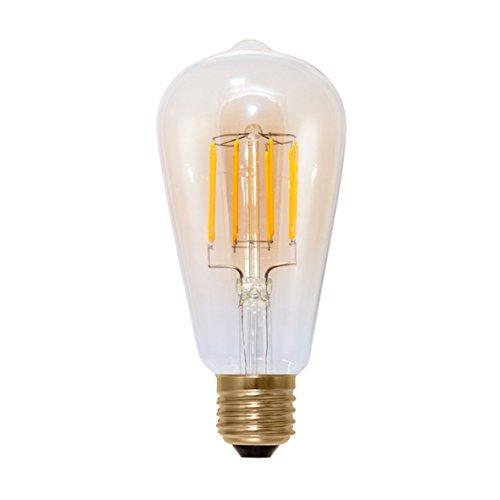 Segula LED E27 Kolbenform 6 W = 42 W Warmweiß (Ø x L) 65 mm x 142 mm EEK: A+ dimmbar, Filament 1 S