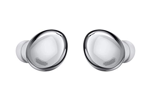 SAMSUNG Galaxy Buds Pro, Bluetooth Earbuds, True Wireless, Noise Cancelling, Charging Case, Quality Sound, Water Resistant, Phantom Silver (US Version)