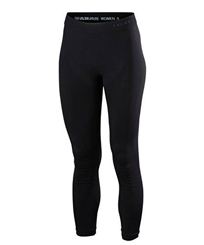 FALKE legginsy damskie, ciepłe długie włókna funkcyjne, 1 opakowanie, czarne (Black 3000), rozmiar: M