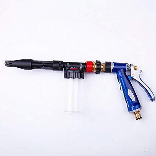 LALAWO Eenvoudig te bedienen, Hogedrukreiniger schuim verstelbare splash hogedrukreiniger pistool adapter onderdelen en snelkoppeling mondstuk auto wassen Eenvoudig en snel