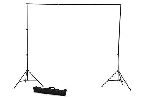 【ノーブランド品】写真撮影用背景スタンド バックグラウンドサポート (高さ75cm-200cm×幅110cm-200cm) 専...