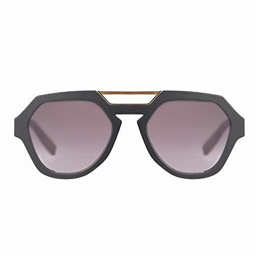 Óculos de sol Avalanche, Evoke, Adulto-Unissex, Preto Fosco/Ouro/Azul, Único